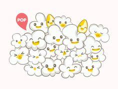 Pop kawai #popcorn