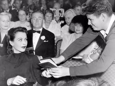 Hedy Lamarr and autograph hound