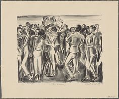 The Savoy : Dayton Brandfield : Art Print Suitable for Framing Art Prints For Sale, Fine Art Prints, Cool Stuff For Sale, White Cats, Dance Art, New York Public Library, Affordable Art, Art Day, Poster Prints