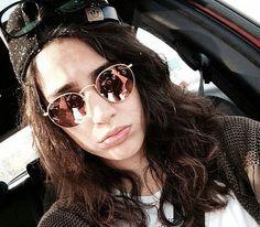 Round Sunglasses, Sunglasses Women, Fashion, Moda, Fashion Styles, Fashion Illustrations, Fashion Models
