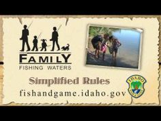 Idaho's Family Fishing Waters
