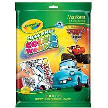 Crayola Color Wonder Disney Pixar's Cars The Movie - Toon