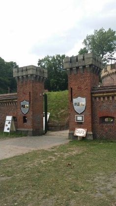 Insel Usedom. Swinemünde. Fort Engelsburg.