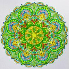 ColorIt Mandalas to Color Volume 1 Colorist: Marla Theodoro #adultcoloring…