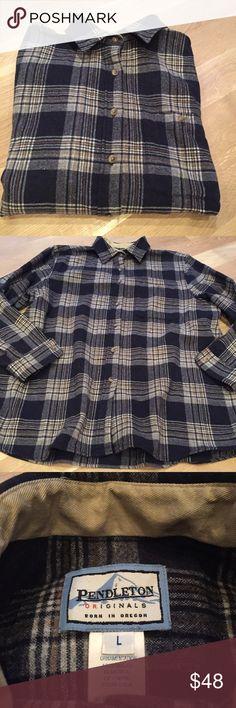 Pendleton Wool Paid shirt NWOT. Pendleton Tops Button Down Shirts