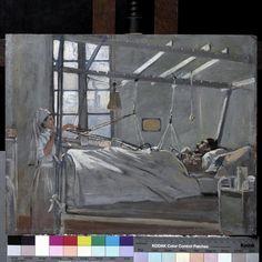 Val De Grâce Hospital, Paris : the interior of a ward