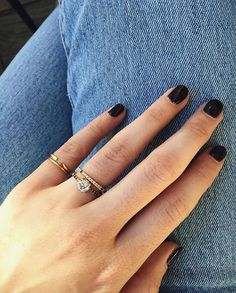Beautiful engaged ring custom designed by Mociun for Janelle Grodsky.