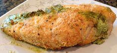 Recipe: Hazelnut Crusted Chicken Stuffed with Creamy Pesto ~ Trendy Mom Reviews