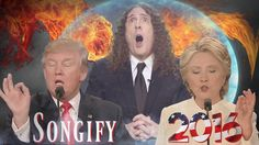 Weird Al Yankovic Moderates an Apocalyptic Songification of the Third Presidential Debate