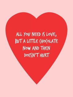 Share it! 16 yummie chocoladequotes - LOL - Flair