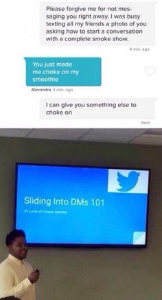 Sliding into DMs 101