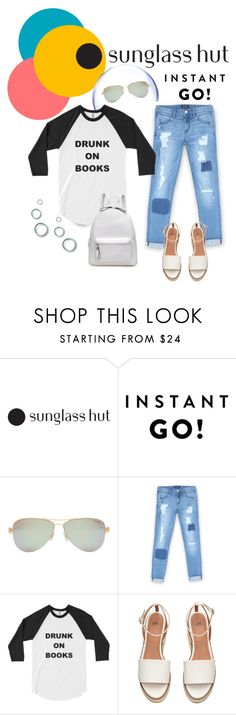 """""""Shades of You: Sunglass Hut Contest Entry"""" by pamela-802 ❤ liked on Polyvore featuring Tiffany & Co., Bebe and shadesofyou"""