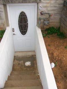 Luxury Dog House Basement Entry