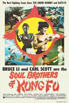 """RIP to Carl Scott, Hong Kong b-movie action star, the """"Soul Brother of Kung Fu,"""" who died last night from the coronavirus. Carl Scott was a Kung Fu expert and fitness enthusiast who went to Hong Kong,. Two Movies, Movie Tv, Green Hornet, Martial Arts Movies, Movie Shots, Western Film, Soul Brothers, Geek Culture, Film Posters"""
