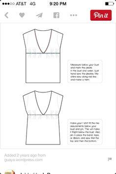 Repurposed t-shirt