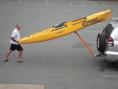 Idea For Making My Own Kayak Loader Out Of Pvc Pipe