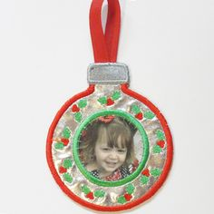 In the hoop ornament