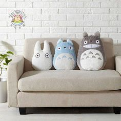 Buy Studio Ghibli My Neighbor Totoro Pillow / Toy / Doll - Gray Totoro (45cm) online at Lazada. Discount prices and promotional sale on all. Free Shipping.