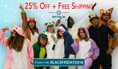 Our #BlackFriday sale is in full swing! Save 25% and get free shipping on all DOMESTIC orders with coupon code:  BlackFriday2016  Shop now at http://kigurumi-shop.com/  Offer good through Monday while supplies last!