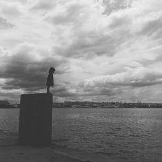 #girl #sea Lucky Luke, Sea, The Ocean, Ocean