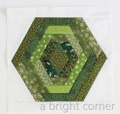 A Bright Corner: Quilting Bee Blocks