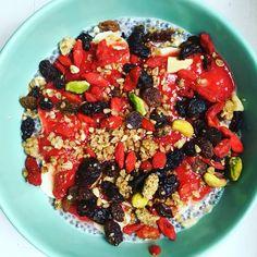 Porridge aux graines de chia