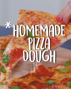 Goes without saying—infinitely better than delivery 🍕 recipe, how to make homemade pizza dough, easy homemade pizza dough, homemade pizza dough quick, homemade pizza dough reci Pizza Recipe Video, Pizza Recipe No Yeast, Make Ahead Pizza Dough Recipe, Pizza Cool, Mushroom Pizza Recipes, Making Homemade Pizza, Homemade Pizza Recipe, Food Videos, Easy Meals