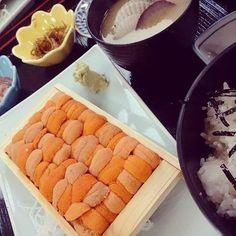 Sea urchin Don(bowl) is delicious! Aotsuka restaurant «Otaru» located in the north of Otaru city Shops atmosphere has a history.    FACEBOOK=  https://www.facebook.com/wabisabi.mode.hokkaido/   #札幌  #北海道  #sapporo  #雲丹丼 #visitjapan  #uni  #日本  #和食