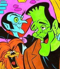 Groovy Ghoulies---60's TV cartoon series