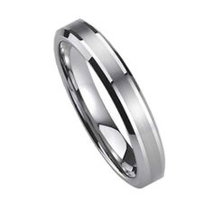 Top Value Jewelry - Women Tungsten Carbide Wedding Band, Her Tungsten Ring, Titanium Color, Brush Matted Finish, Beveled Edge, 5MM (size 5-8) - Half Sizes Available Top Value Jewelry. $24.99. Classy and Elegant Wedding Band. Flat Top, High Polish Finish Beveled Edge. Comfort Fits - 100% SATISFACTION. High End Design, Brush Matted Finish in the middle. Perfect Wedding Ring at the best price your can find