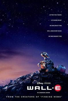 30 Day Disney Challenge Day Least Favorite Pixar Movie: Wall-E. Some parts were cute but my overall impression was just . Pixar Movies, Sci Fi Movies, Disney Movies, Movies To Watch, Fiction Movies, Animation Movies, Wall E Movie, Love Movie, Movie Scene