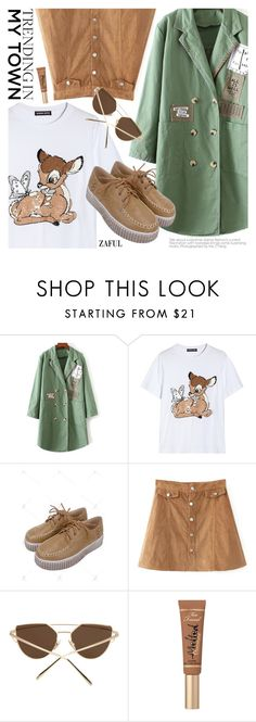 """Preppy Chic"" by pokadoll ❤ liked on Polyvore featuring Markus Lupfer, Too Faced Cosmetics, polyvoreeditorial, polyvorefashion, polyvoreset and zaful"