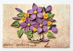 """132 kedvelés, 1 hozzászólás – Александрина Димитрова (@aleksandrinadimitro) Instagram-hozzászólása: """"#quillingcards #quillingcreations #quillingflowers #paperflowers #papercrafts #handmadeflowers…"""""""