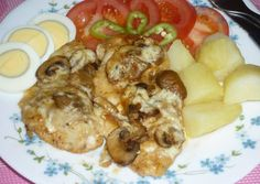 Hungarian Recipes, Hungarian Food, Meat, Chicken, Dinner Ideas, Hungarian Cuisine, Supper Ideas, Cubs