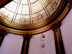 domed roof glass