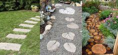 Caminos o senderos de jardín originales