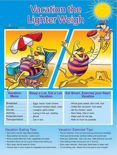 Vacation Light Poster