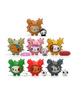Cactus Pups vinyl toy collectables