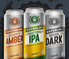 Lovely package waterloo brewing co 1 in Packaging