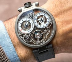 """Bovet Pininfarina OttantaSei 10-Day Tourbillon Watch Hands-On - by Ariel Adams - on aBlogtoWatch.com """"For 2016, Swiss Bovet presents the latest timepiece as part of the brand's ongoing design collaboration with the famed automotive (for the most part) design firm Pininfarina in Italy. aBlogtoWatch debuted the first watch from this relationship back in 2010 with the Bovet Pininfarina Ottana Tourbillon. Since then, there have been a range of relatively affordable models..."""""""