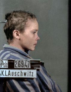 Digital artist Marina Amaral specializes in photo colorization and recently updated the last images of a 14-year-old Polish prisoner in Auschwitz. Breathing life into the black-and-white pictures, Amaral managed to visually emphasize the tragic past of Czeslawa Kwoka.