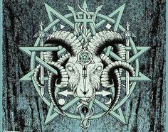 ... Ram Head, Pentagrams ...