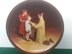 Knowles Bradford Ready for the World The Ones We Love Series Norman Rockwell COA