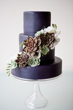 Gumpaste Succulent Tutorial - Cake Decorating  Is Sarah into learning this?