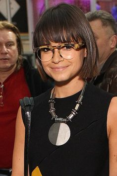 Miroslava Duma, editor of Harpar's Bazaar (Russia) turned freelance fashion writer/icon. No clue what we would talk about it but I'm sure it would at least be interesting to hear how she juggles being a politician's daughter and new young mother.