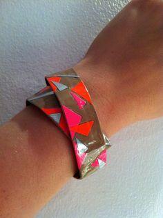 Double Wrap Duct Tape Bracelet by GabrielleZwick on Etsy, $6.00