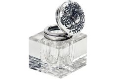 Crystal & Silver Inkwell