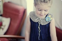 Flower Girl Collar by Katherine Heise