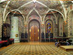 Теремной дворец Московского Кремля, фрагмент интерьера