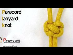 How to make a lanyard knot - Paracord guild